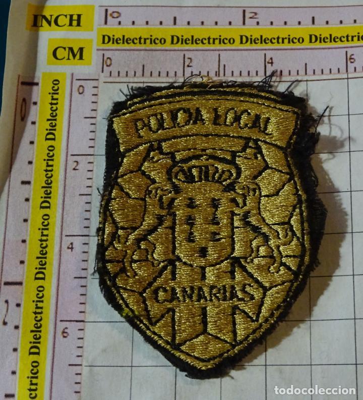PARCHE MILITAR. POLICIA LOCAL DE CANARIAS (Militaria - Ärmelabzeichen)