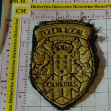 Militaria: PARCHE MILITAR. POLICIA LOCAL DE CANARIAS. Lote 155862214