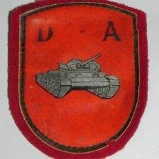 Militaria: PARCHE BRAZO DIVISION ACORAZADA PARA TRAJE DE PASEO, MODELO ANTIGUO FIELTRO Y PLÁSTICO, MIDE 9 CMS.. Lote 159604538