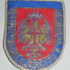 Militaria: PARCHE DE TELA DEL CUARTEL GENERAL DEL EJERCITO, MIDE 8,3 CMS.. Lote 159605086