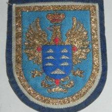 Militaria: PARCHE DE TELA DEL MANDO DE CANARIAS DEL EJERCITO DE TIERRA. MIDE 9 X 7,5 CMS.. Lote 159606194