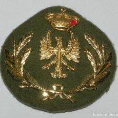 Militaria: GALLETA PARA BOINA O GORRA DE PLATO DE OFICIAL DEL EJERCITO DE TIERRA.. Lote 159608218