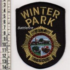 Militaria: PARCHE BOMBERO WINTER PARK - USA. Lote 159798438