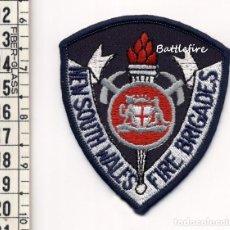 Militaria: NEW SOUTH WALES FIRE BRIGADES - PARCHE BOMBERO - AUSTRALIA. Lote 160178858