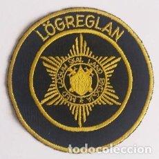Militaria: PARCHE POLICÍA, ISLANDIA (114). Lote 160463490