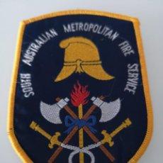 Militaria: PARCHE DE BOMBEROS SOUTH AUSTRALIAN METROPOLITAN FIRE SERVICE AUSTRALIA . Lote 163606094