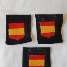 Militaria: BORDADO. ESCUDO / DISTINTIVO CON BANDERA DE ESPAÑA.. Lote 165144810