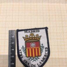 Militaria: PARCHE TELA Y BORDADO NUESTRA SEÑORA DE LA MERCED. Lote 165476969