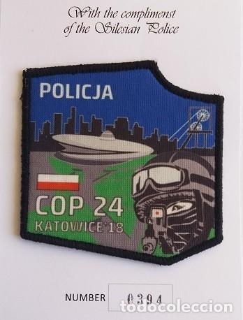 PARCHE POLICÍA, SERIE LIMITADA, POLONIA (798) (Militar - Parches de tela )
