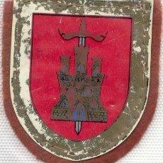 Militaria: PARCHE ANTIGUO EJÉRCITO DE TIERRA BRIGADA DE LA DEFENSA OPERATIVA DEL TERRITORIO VI COLOR SERIGRAFIA. Lote 166304674
