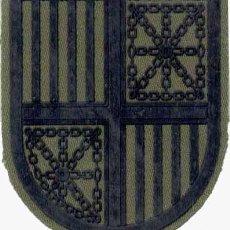 Militaria: PARCHE EJÉRCITO DE TIERRA 12 412 MANDO REGIONAL PIRENAICO FAENA . Lote 166308254