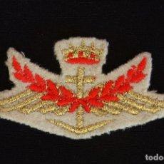 Militaria: AVIACION-NAVAL?EMBLEMA POR IDENTIFICAR. Lote 166320482