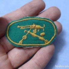 Militaria: * ANTIGUO PARCHE REPUBLICANO DE AMETRALLADORA HOTCHKISS, ORIGINAL, GUERRA CIVIL. ZX. Lote 166494418
