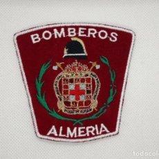 Militaria: PARCHE BOMBEROS DE ALMERIA. Lote 167012816