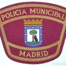 Militaria: PARCHE POLICIA MUNICIPAL MADRID. Lote 167196652