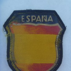 Militaria: DIVISION AZUL : PARCHE ESPAÑOL ORIGINAL DE EPOCA Y USADO POR DIVISIONARIO. Lote 168371772