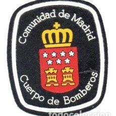 Militaria: PARCHE BOMBEROS DE MADRID. Lote 168435344