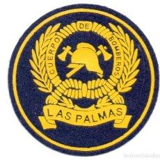 Militaria: PARCHE BOMBEROS LAS PALMAS. Lote 168436348
