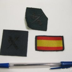 Militaria: 3 PARCHES DE GUARDIA CIVIL DE ÉPOCA ACTUAL. Lote 168651072