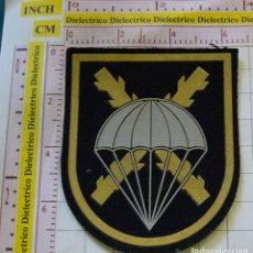 Militaria: PARCHE MILITAR. EJÉRCITO ESPAÑOL. BANDERA PARACAIDISTA BRIPAC. . Lote 169299164