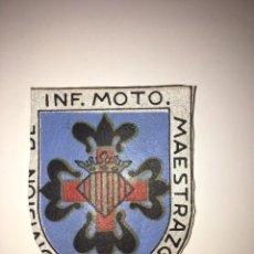 Militaria: PARCHE INFANTERÍA MAESTRAZGO NÚMERO 7. Lote 169766202