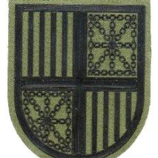 Militaria: PARCHE EJERCITO ESPAÑOL MANDO REGIONAL PIRENAICO. Lote 169778496