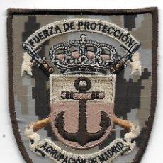 Militaria: PARCHE INFANTERIA DE MARINA FUERZA DE PROTECCION AGRUPACION MADRID PIXELADO ARIDO. Lote 206588265