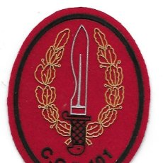 Militaria: PARCHE COE 101 COES MOE. Lote 169928376