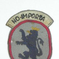Militaria: PARCHE DE TELA DEL FRENTE DE JUVENTUDES, OJE, ORGANIZACION JUVENTIL ESPAÑOLA, NO IMPORTA, TAL COMO P. Lote 170486688