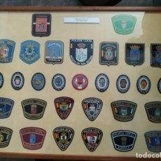 Militaria: PARCHES POLICIA NACIONAL LOCAL MUNICIPAL DE EXTREMADURA, EUZKADI, GALICIA, DE CASTILLA , ANDALUCIA. Lote 171549105