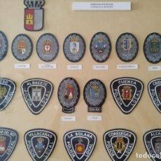 Militaria: PARCHE POLICIA LOCAL CASTILLA LA MANCHA MUNICIPAL, EUZKADI, EXTREMADURA, GALICIA. EMBLEMA,GUARDIA. Lote 171549654