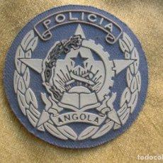 Militaria: RARO Y ESCASO PARCHE DE LA POLICIA ANGOLEÑA.. Lote 171678204