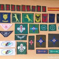 Militaria: INSIGNIAS SCOUTS DE ESPAÑA - ASDE (1970-1990) - SCOUT - ESCULTISMO. Lote 171709480