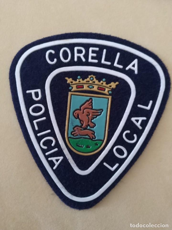 PARCHE POLICIA LOCAL MUNICIPAL DE CORELLA (NAVARRA). EMBLEMA, ESCUDO POLICIAL (Militar - Parches de tela )