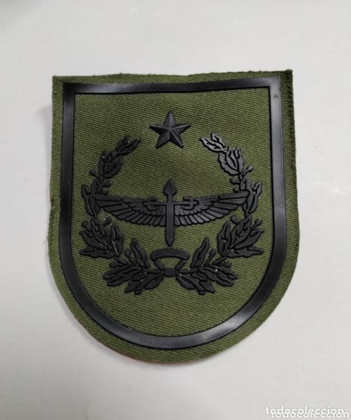 PARCHE EMBLEMA FAMET CUARTEL GENERAL SIN CORONA VERDE (Militar - Parches de tela )