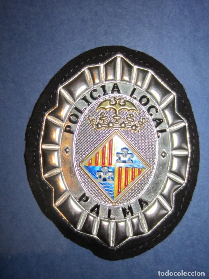 EMBLEMA DE PECHO POLICIA LOCAL PALMA. (Militar - Parches de tela )