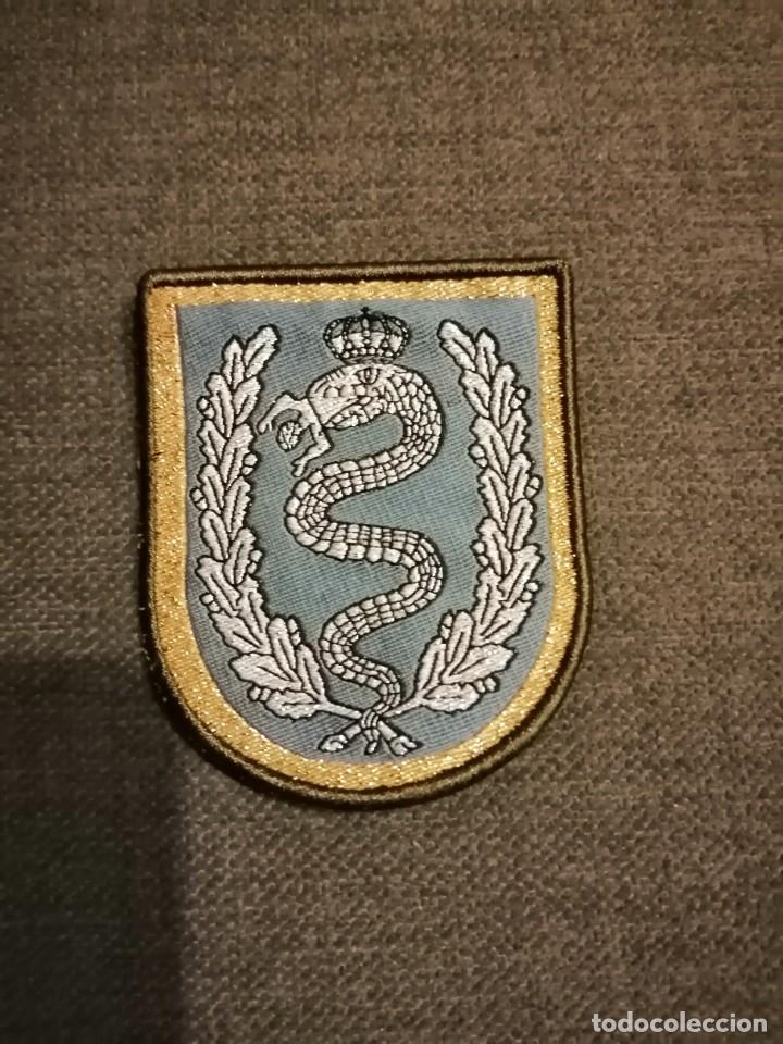 PARCHE DE BRAZO GALA EMBLEMA EJERCITO ESPAÑOL BRIGADA DE CABALLERIA CASTILLEJOS II (Militar - Parches de tela )