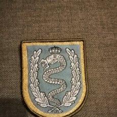 Militaria: PARCHE DE BRAZO GALA EMBLEMA EJERCITO ESPAÑOL BRIGADA DE CABALLERIA CASTILLEJOS II. Lote 172730774