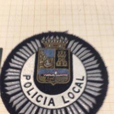 Militaria: PARCHE POLICÍA MUNICIPAL. Lote 172780325
