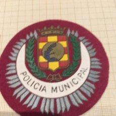 Militaria: PARCHE POLICÍA MUNICIPAL. Lote 172780613