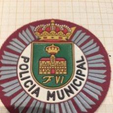 Militaria: PARCHE POLICÍA MUNICIPAL. Lote 172781002