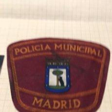 Militaria: PARCHE POLICÍA MUNICIPAL DE MADRID. Lote 172786453