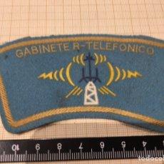 Militaria: PARCHE DE BRAZO POLICÍA MUNICIPAL DE MADRID GABINETE R-TELEFONICO. Lote 172789043