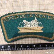 Militaria: PARCHE DE BRAZO POLICÍA MUNICIPAL DE MADRID - RONDA DE LA ALCALDIA. Lote 172789230