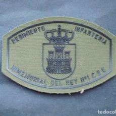 Militaria: PARCHE REGIMIENTO DE INFANTERIA IMMEMORIAL DEL REY Nº1 CGE.-ULTIMO PARCHE. Lote 173662050