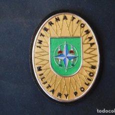 Militaria: PARCHE INTERNATIONAL MILITARY POLICE.-EN TEFLEX VELCRO POR DETRAS.-. Lote 173810320