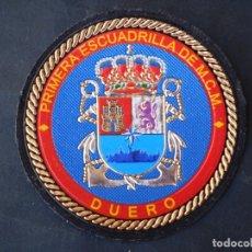 Militaria: PARCHE REDONDO DUERO ARMADA ESPAÑOLA ORIGINAL.-EN TEFLEX.-SIN VELCRO.-. Lote 173810782