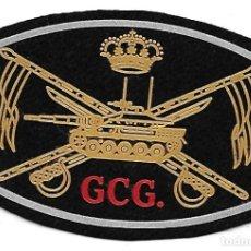 Militaria: PARCHE CABALLERIA BRIGADA CASTILLEJOS EN NEGRO GCG. Lote 208448931