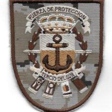 Militaria: PARCHE INFANTERIA DE MARINA FUERZA DE PROTECCION TERCIO DEL SUR PIXELADO. Lote 184892732