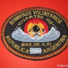 Militaria: PARCHE BOMBEROS VOLUNTARIOS MAR DE AJO. ARGENTINA.. Lote 174956360